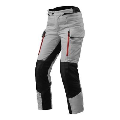Pantalon textile femme Rev'it Sand 4 H2O (court) argent/noir