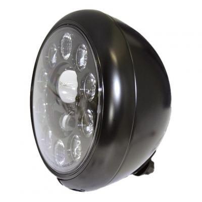 Phare LED Highsider HD-Style type 1 fixation inférieure noir