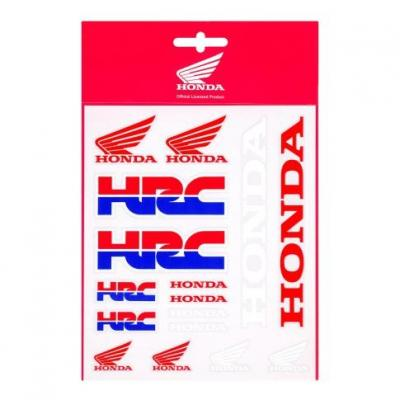 Planche d'autocollant Honda Racing Collection HRC (13,5 x 16cm)