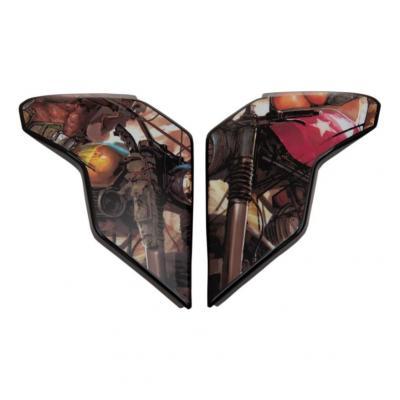Plaques latérale Icon pour casque Airflite Pleasuredome3 brown