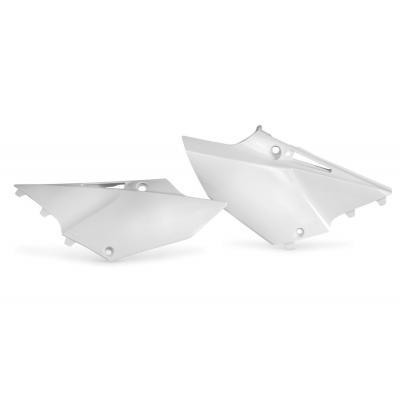 Plaques numéro latérales Acerbis Yamaha 125/250 YZ 2015 blanc (paire)