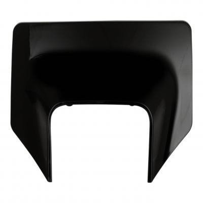 Plastique plaque phare UFO Husqvarna 125 TX 17-19 noir