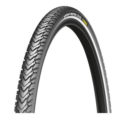 Pneu vélo VTT Michelin Protek Cross Max TR noir/flanc réfléchissant (26 X 1.85'')