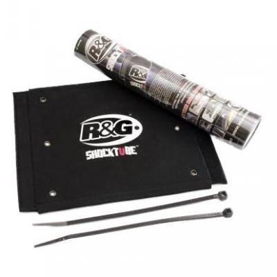 Protection de fourche R&G Racing noire 25,4x25,4 mm