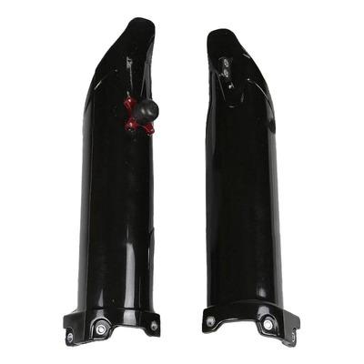 Protection de fourche + kit départ UFO Kawasaki 250 KX-F 09-12 noir