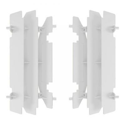 Protection de radiateur Polisport Suzuki 125 RM 01-08 blanc
