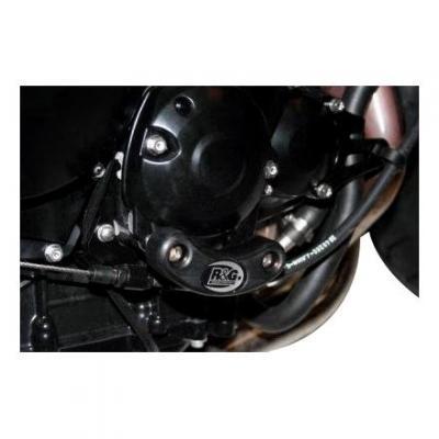 Slider moteur droit R&G Racing noir Triumph Street Triple 675 07-11