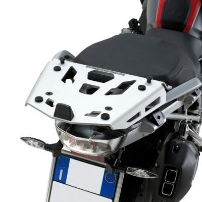 Support spécifique et platine en aluminium Kappa pour top case Monokey BMW R 1200GS 13-18