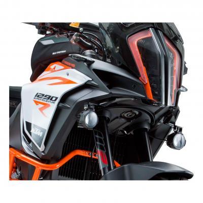 Supports pour feux additionnels SW-MOTECH noir KTM 1290 Super Adventure R 17-18
