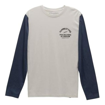 Tee-shirt manches longues Alpinestars Decades premium natural
