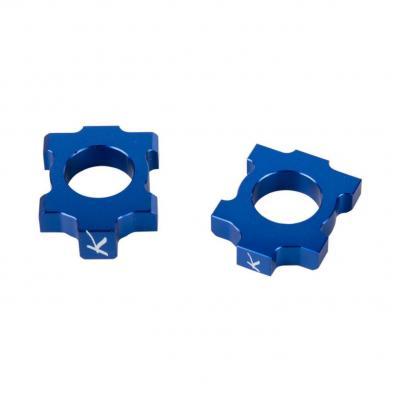 Tendeurs de chaîne Kite Kawasaki 250 KX-F 05-17 bleu