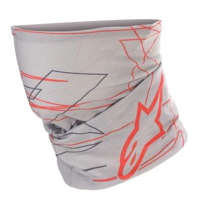 Tour de cou tube Alpinestars Neck Tube Marc Marquez mid gris/gris foncé/rouge