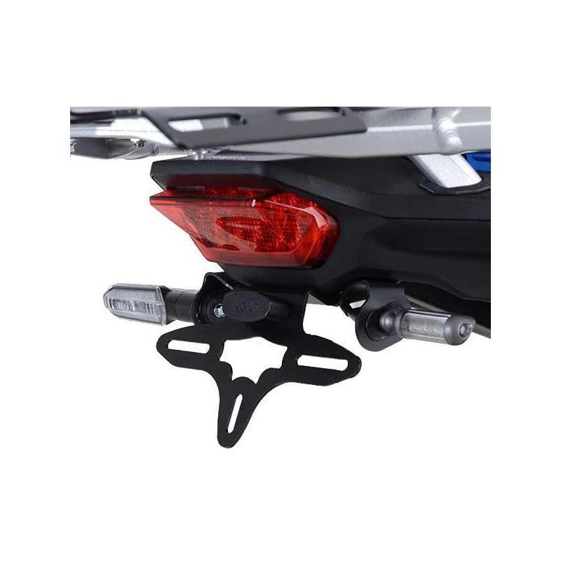 Support de plaque d'immatriculation R&G Racing noir Honda CRF1100L Africa Twin 2020