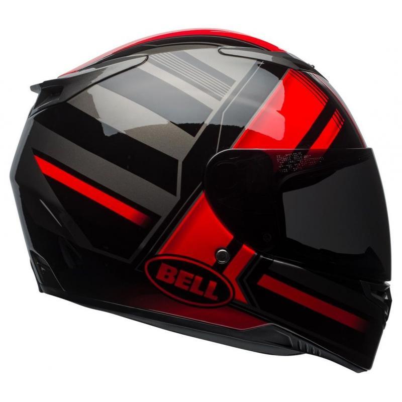 Casque intégral Bell RS 2 Tactical rouge/noir/titanium - 6