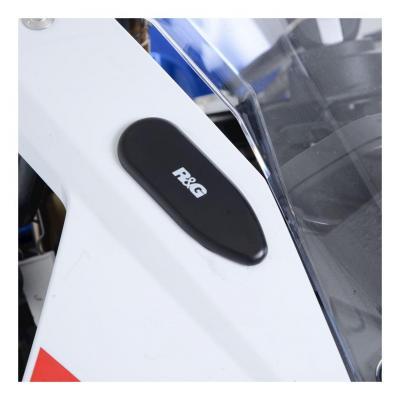 Caches orifices de rétroviseur R&G Racing noirs BMW S 1000 RR 19-20
