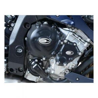 Kit couvre carter moteur R&G Racing noir BMW S 1000 RR 10-14