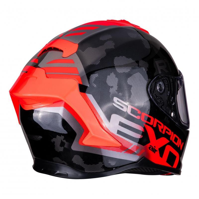 Casque intégral Scorpion Exo-R1 Air Ogi noir/rouge - 3