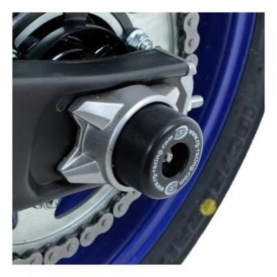 Tampons de bras oscillant R&G Racing noir Yamaha MT-07 14-18