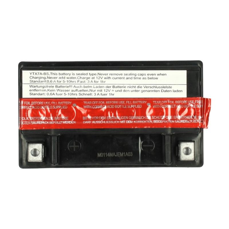 Batterie Sceed 42 YTX7A-BS 12V 6Ah avec pack acide - 1