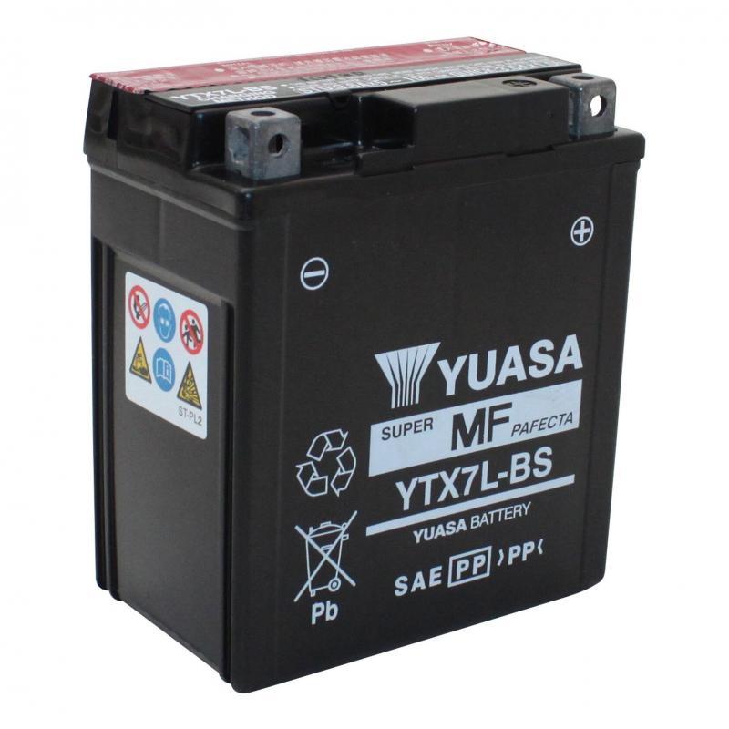 Batterie Yuasa YTX7L-BS 12V 6Ah