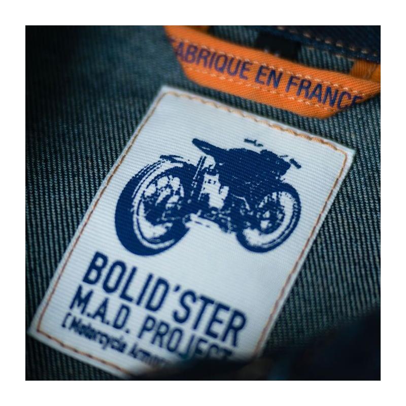 Blouson jean Bolidster Jack'Ster indigo - 2