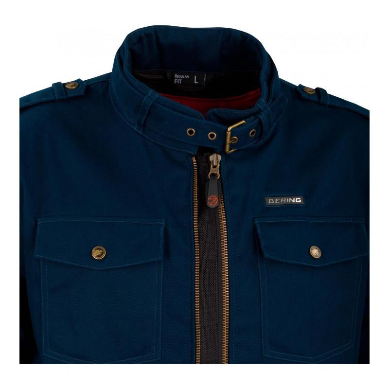 Blouson textile Bering Chuck bleu - 2
