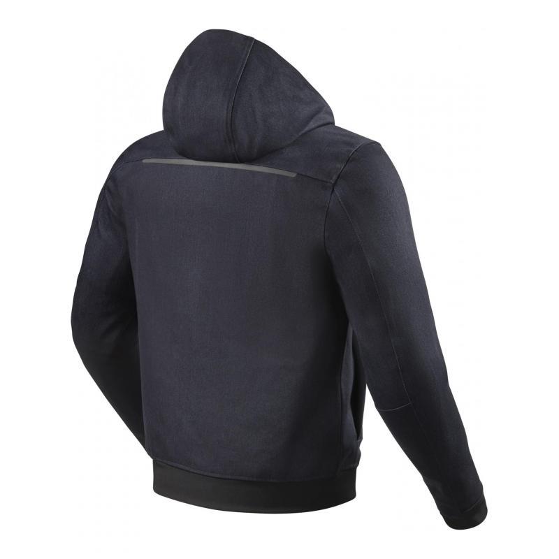 Blouson textile Rev'it Stealth 2 bleu foncé - 1