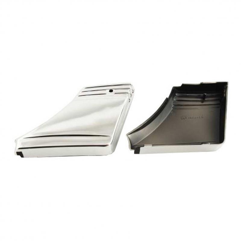 Caches boîte à outils Peugeot SPX RCX Chromés (la paire)