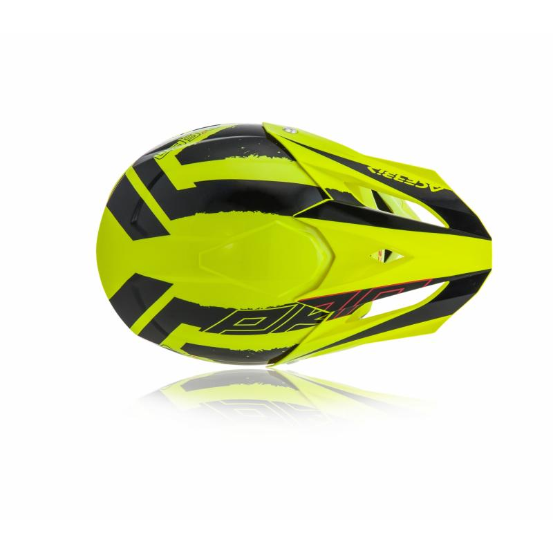 Casque cross Acerbis Profile 4 jaune/noir - 5