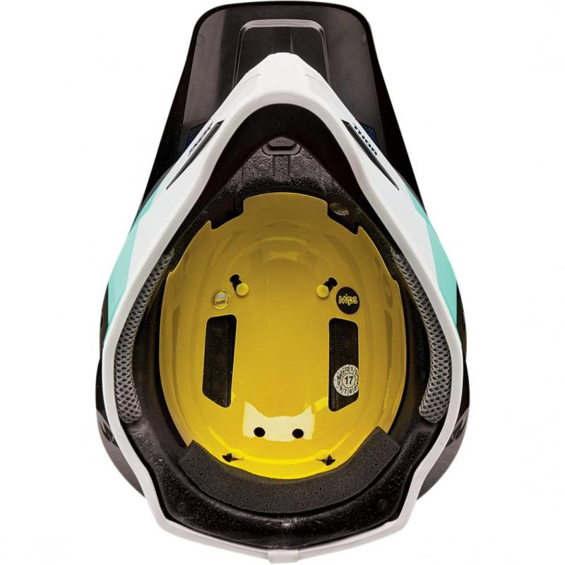 Casque cross Thor Sector Mips black/mint - 2