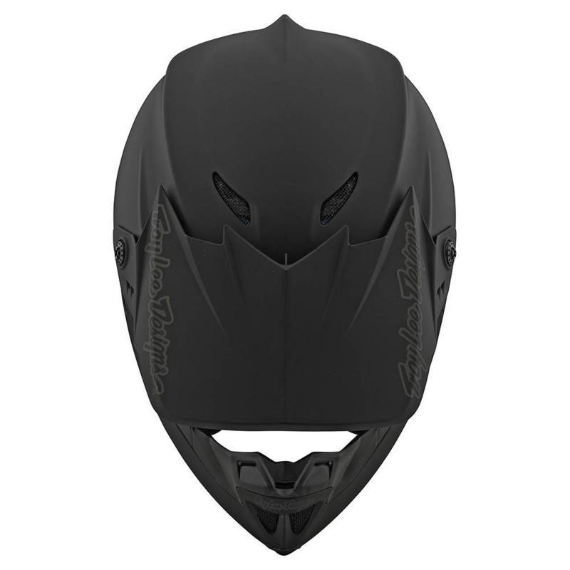 Casque cross Troy Lee Designs GP Polyacrylite Mono noir mat - 4