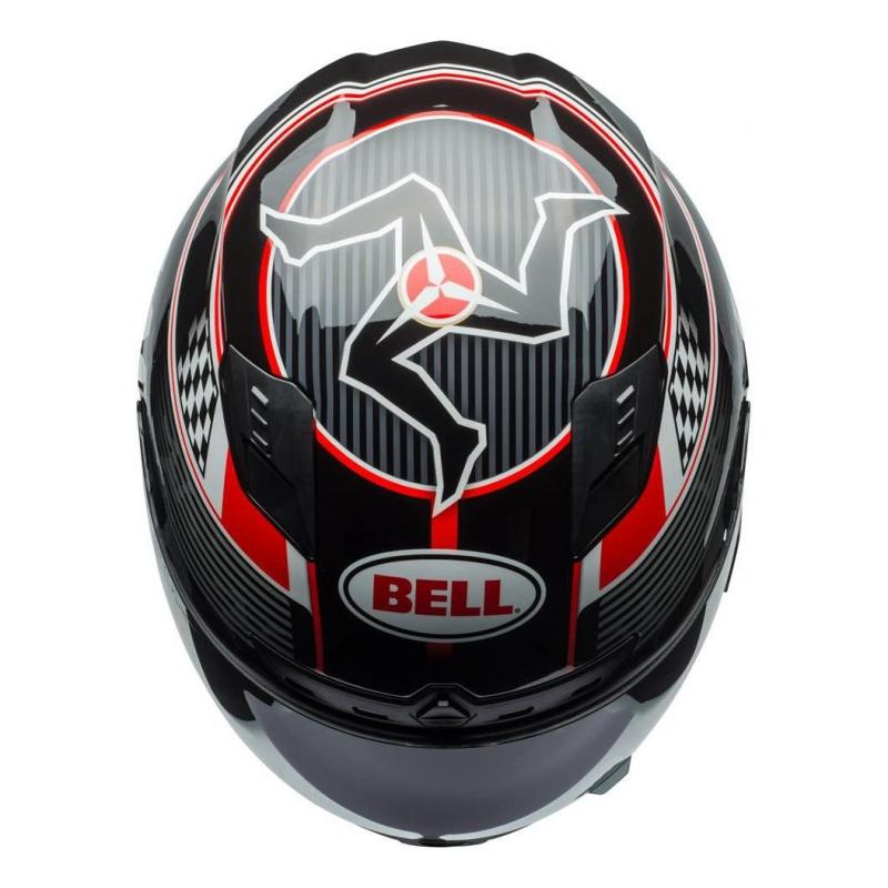 Casque intégral Bell DLX Mips Isle Of Man 18 noir/rouge - 3