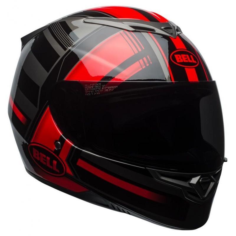 Casque intégral Bell RS 2 Tactical rouge/noir/titanium - 1