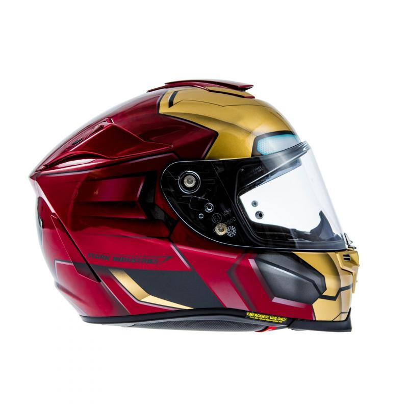Casque intégral HJC RPHA 70 IRONMAN HOMECOMING MARVEL - 2