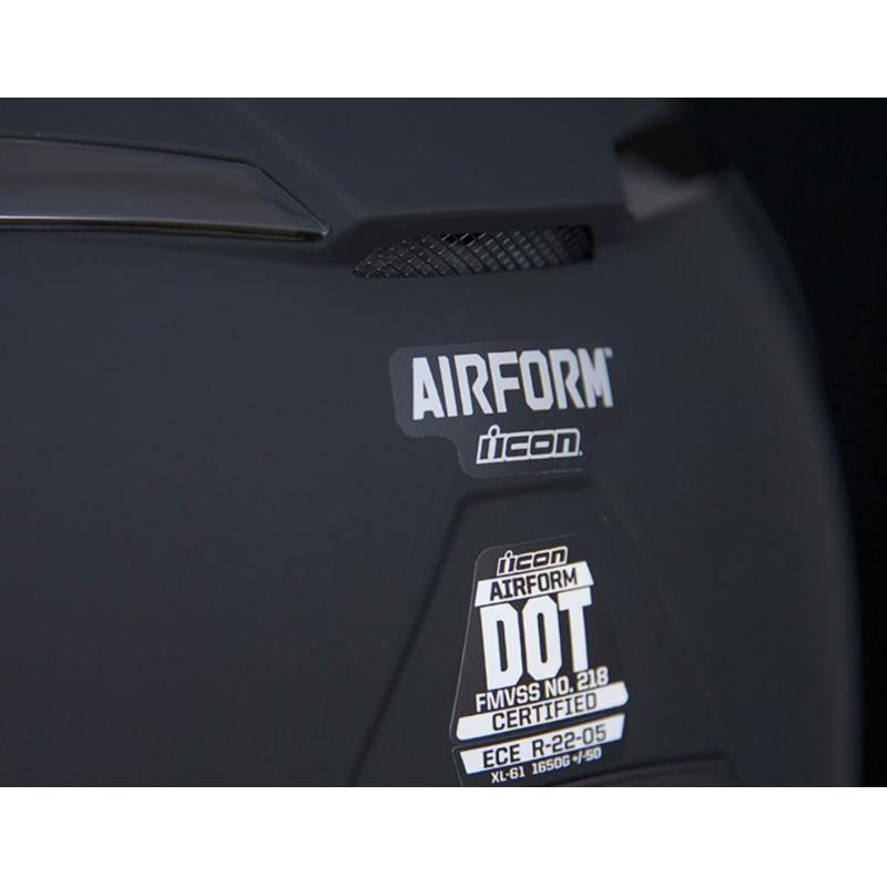 Casque intégral Icon Airform Rubatone noir mat - 3