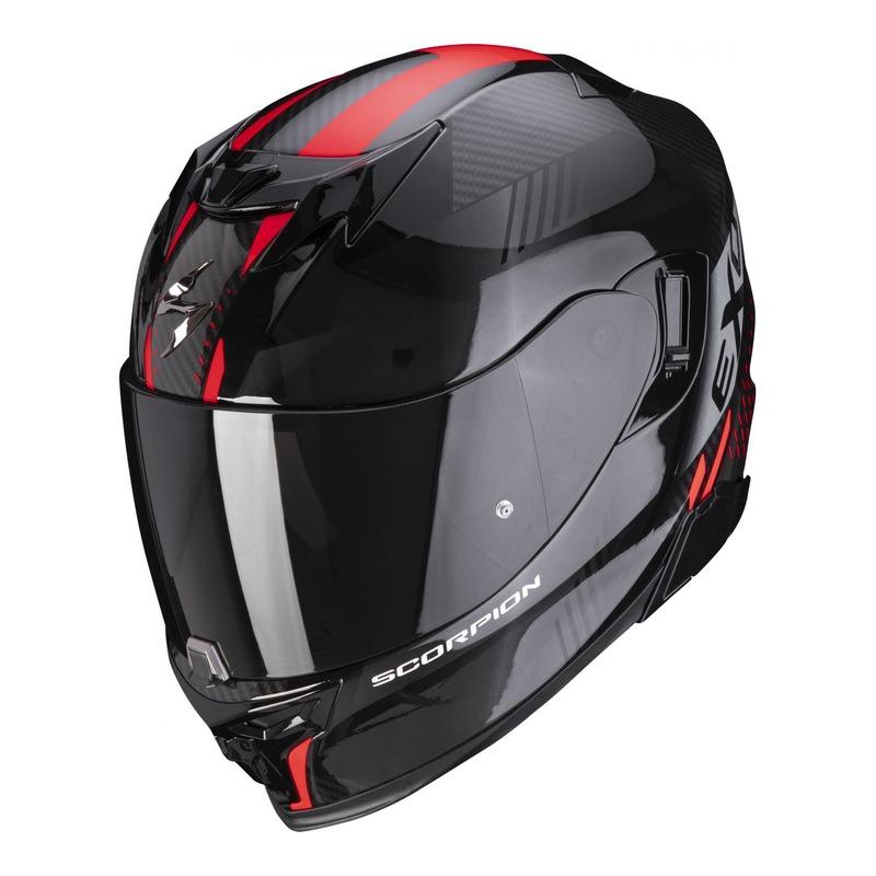 Casque intégral Scorpion EXO-520 Air Laten noir/rouge