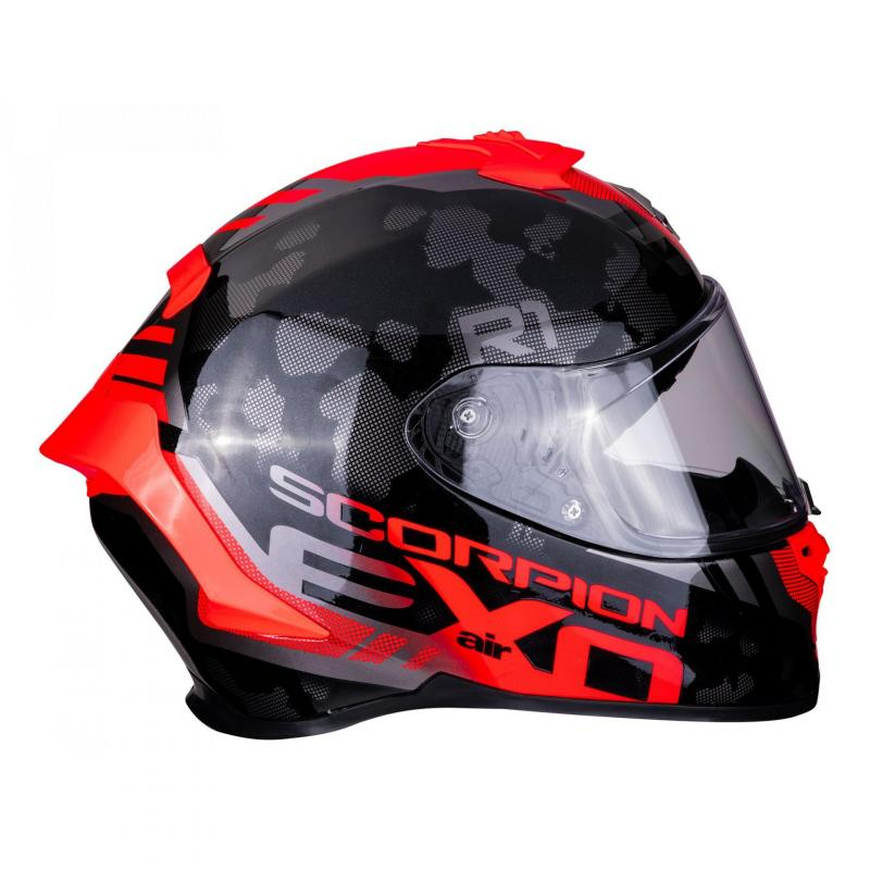 Casque intégral Scorpion Exo-R1 Air Ogi noir/rouge - 1
