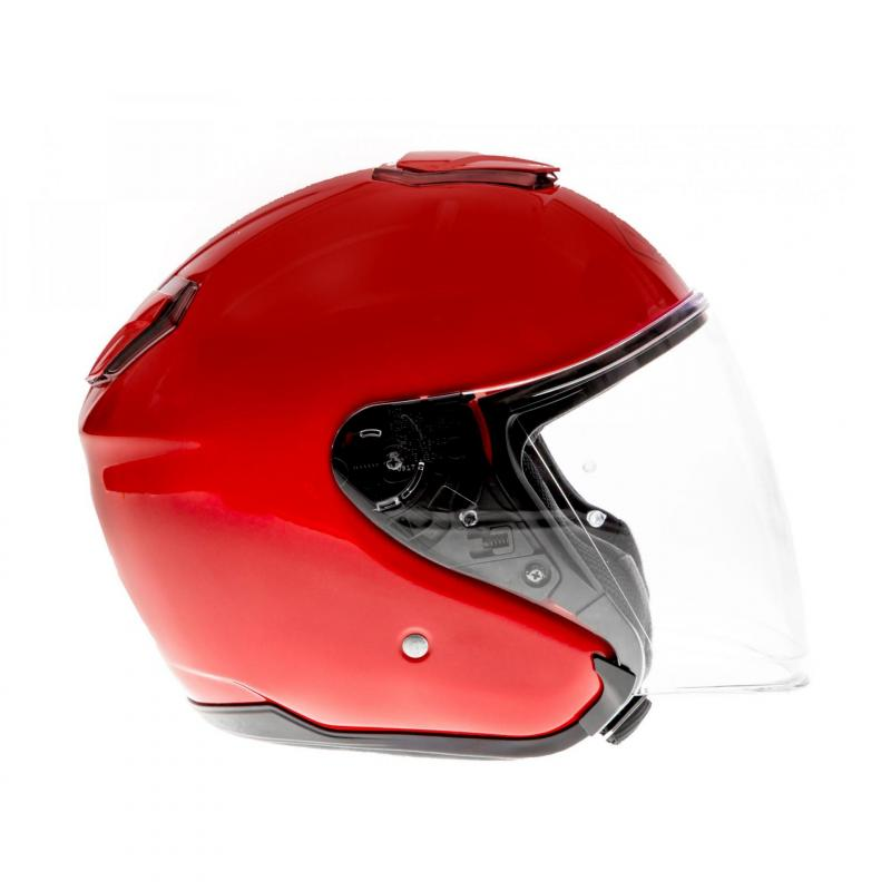 Casque jet Shoei J-Cruise rouge brillant - 2