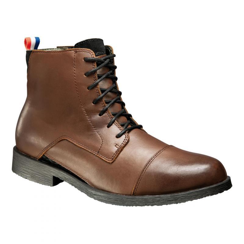 Chaussures moto Ixon Greenwich marron - 1