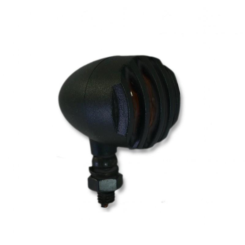 Clignotants Brazoline Intruder noirs (paire) - 2
