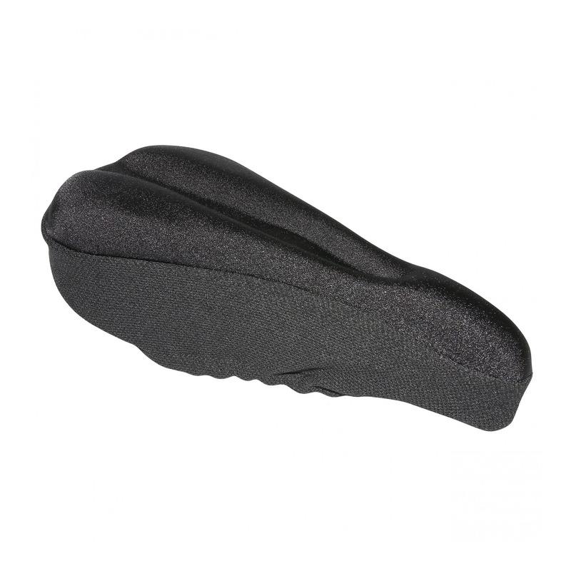 Couvre selle vélo néoprène/gel noir (155x300mm)