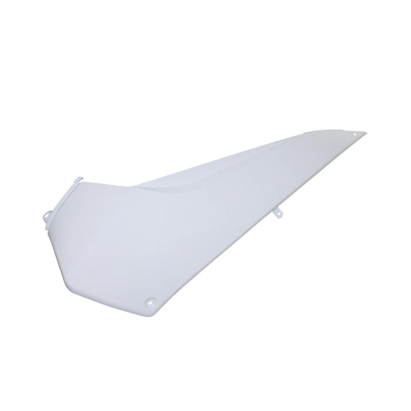 Dessous de tablier avant blanc brillant gauche adaptable 500 T-max 2008>2011