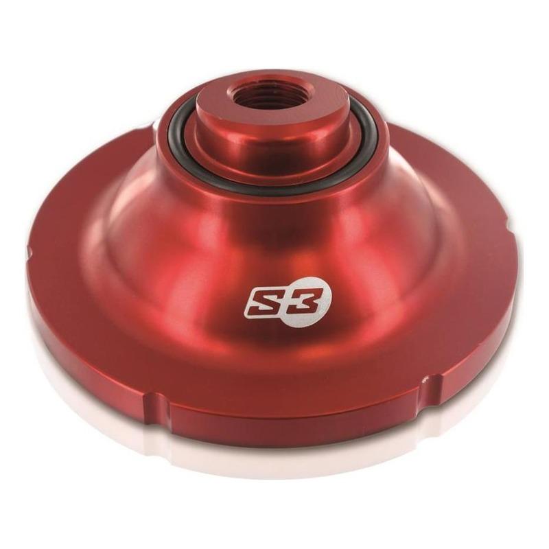 Dôme de culasse rouge S3 compression standard pour Beta EVO 125 / 250