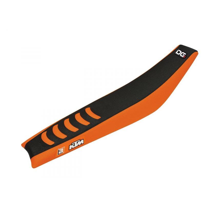 Housse de selle Blackbird Double Grip 3 KTM 450 SX-F 16-17 orange/noir