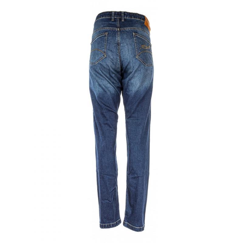 Jeans moto femme RST Ladies Aramid Skinny Fit bleu - 1