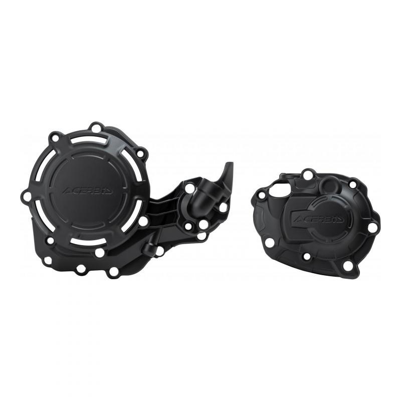 Kit de protections carters Acerbis X-Power Yamaha 450 YZ-F 18-20 noir