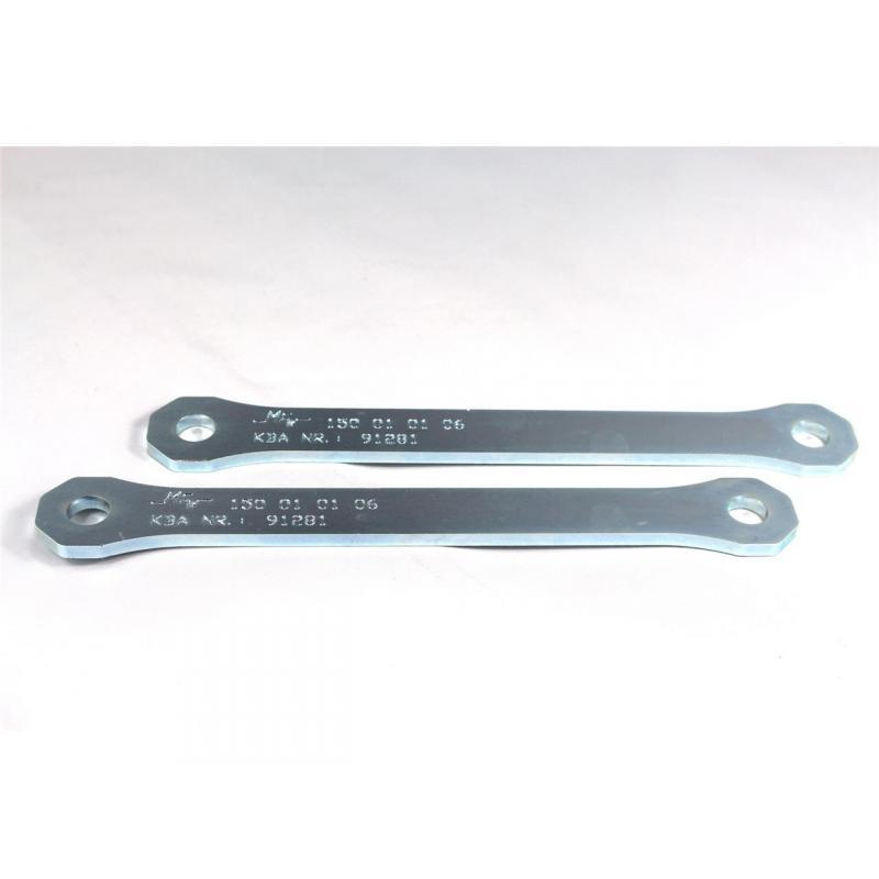 Kit rabaissement de selle -30 mm Tecnium pour Kawasaki Z750R 10-12
