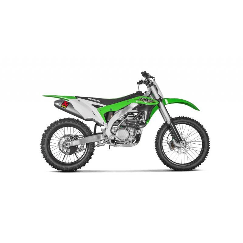 Ligne complète Akrapovic Racing Titanium Kawasaki KX 450 F 16-17 - 1