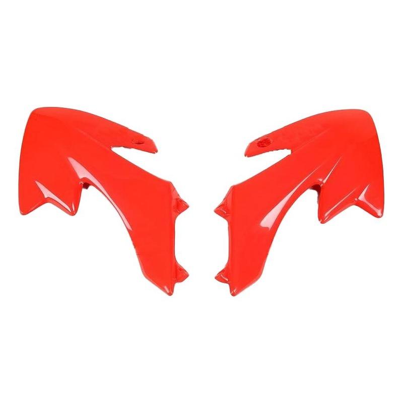 Ouïes de radiateur UFO Honda CRF 50F 04-17 rouge (rouge CR 00-12)
