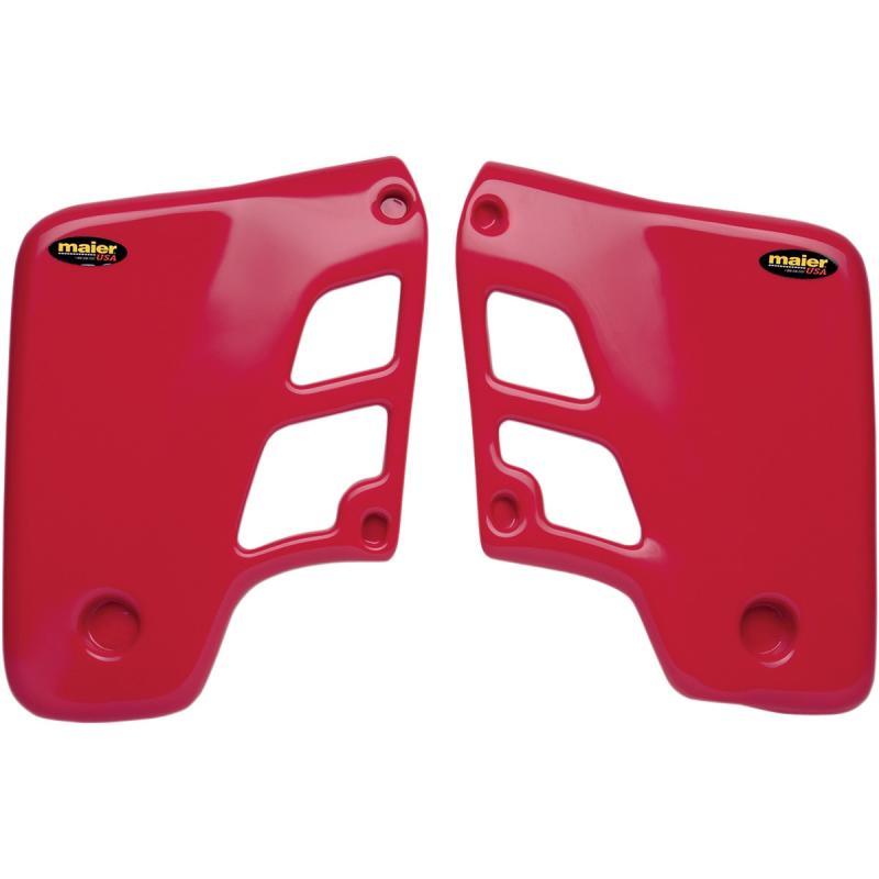 Ouïes de radiateurs Maier USA Honda CR 500R 86-88 rouge
